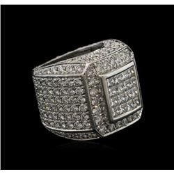 9.00 ctw Diamond Ring - 14KT White Gold