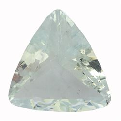 6.53 ctw Triangle Aquamarine Parcel