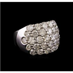 14KT White Gold 3.64 ctw Diamond Ring