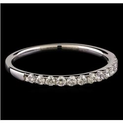 0.30 ctw Diamond Ring - 18KT White Gold