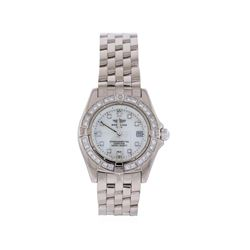 Breitling 18KT White Gold Diamond Callistino Watch