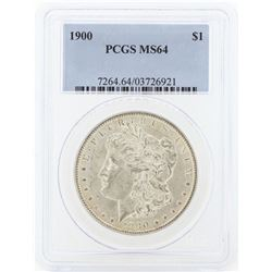 1900 MS64 NGC Morgan Silver Dollar