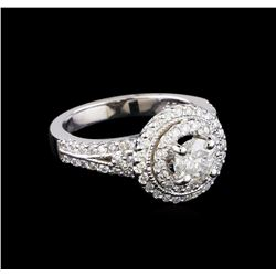 1.33 ctw Diamond Ring - 14KT White Gold