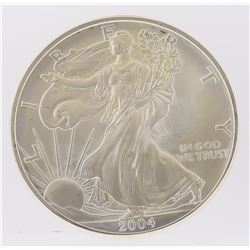 2004 American Silver Eagle Dollar Coin