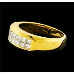 1.15 ctw Diamond Ring - 18KT Yellow Gold