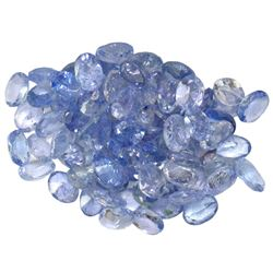 12.95 ctw Oval Mixed Tanzanite Parcel