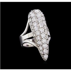 2.73 ctw Diamond Ring - 14KT White Gold