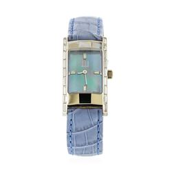 Dunhill 18KT White Gold 1.03 ctw Diamond Watch