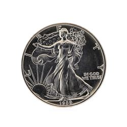 1989 American Silver Eagle Dollar Coin