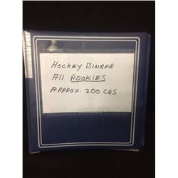 ALL ROOKIE HOCKEY CARDS (APPROX 200 CARDS)