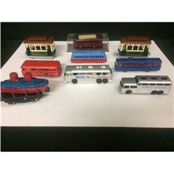 VINTAGE TOY VEHICLE LOT