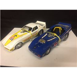 1982 Pontiac Trans Am TOY Funny Car & BLUE MAX TOY FUNNY CAR