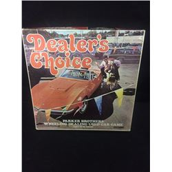 VINTAGE DEALER'S CHOICE USED CAR GAME - PARKER BROS - 100% COMPLETE - 1972 -