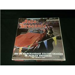 AUTO BROCANTE (Dealer's Choice) BOARD GAME 1970s Parker Brothers complete