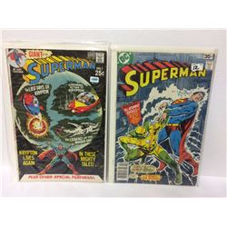 SUPERMAN #232 80 Pages! Last Days of KRYPTON! Vintage Bronze-Age & Superman #323 May 1978 DC COMICS