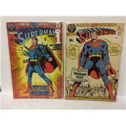 Superman # 233 (DC, 1971) ICONIC NEAL ADAMS COVER SILVER AGE CLASSIC BRONZE AGE & SUPERMAN #240 CLAS