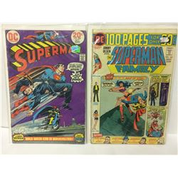 1973 Superman #268 FN+ First Print DC Comics Batgirl World Of Krypton &  Superman Family #165, Vol 1