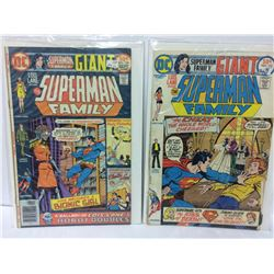 1976 SUPERMAN FAMILY #178 DC COMIC & The Superman Family #172 (Aug-Sep 1975, DC)