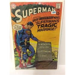 SUPERMAN #215  Classic Imaginary Tale! 1969 DC Silver-Age COMIC