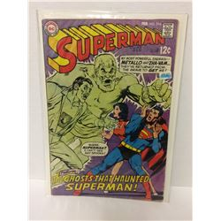 SUPERMAN #214 - Feb 1969 THE GHOSTS THAT HAUNTED SUPERMAN DC COMIC