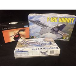 FIGHTER PLANES MODEL KIT IN BOX LOT