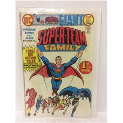 1975 Superman Batman Super-Team Family #1 Neal Adams Wally Wood Teen Titans Flash DC COMIC