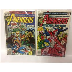 1977 THE AVENGERS MARVEL COMIC BOOK LOT (#164, 161)