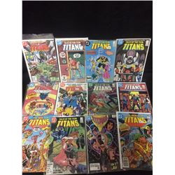 TITANS DC COMIC BOOK LOT
