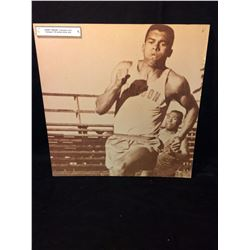 "HARRY JEROME 24"" X 24"" WALL PLAQUE (CANADA'S 60'S OLYMPIC 100- METRE TRACK STAR)"