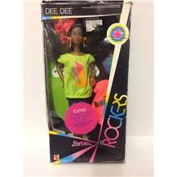 NEW IN BOX 1985 BARBIE AND THE ROCKERS DOLL DEE DEE MATTEL VINTAGE AFRICAN