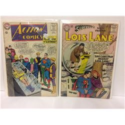 ACTION COMICS #318 The Death of Lex Luthor! + SUPERGIRL back-story! 1964 & Superman's Girlfriend Loi
