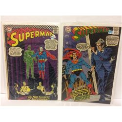 "Superman #170 - Superman's Mission for President Kennedy! & Superman #209 ""The Clark Kent Monster!"""