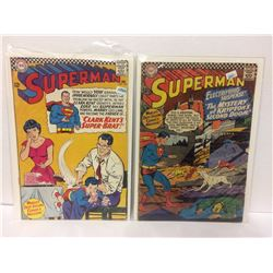 Superman #192 (Jan 1967, DC) &  SUPERMAN #189 THE MYSTERY OF KRYPTON'S SECOND DOOM!