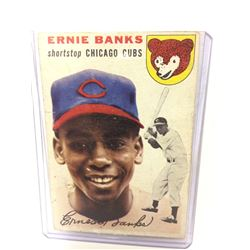 1954 Topps #94 Ernie Banks Rookie BASEBALL CARD