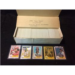 1981 FLEER BASEBALL TRADING CARDS (COMPLETE SET)