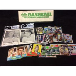 MLB BASEBALL TRADING CARDS LOT (1987 FLEER SET)