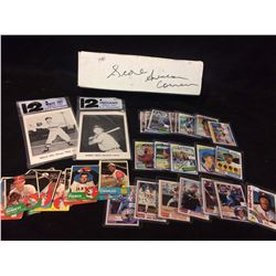 MLB BASEBALL TRADING CARDS LOT (1981 SCORE SET)