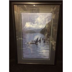 "DANIEL SMITH SIGNED & NUMBERED ""ANCIENT MARINERS"" PRINT W/ CERTIFICATE (409/950)"