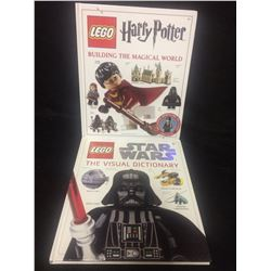 Lego Star Wars: The Visual Dictionary & Lego Harry Potter: Building the Magical World