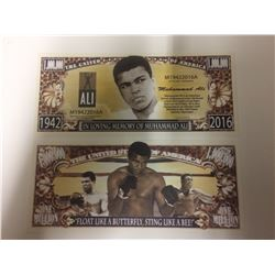 MUHAMMAD ALI Champion Boxer ~ $1,000,000 One Million Dollar Bill: United States (NOVELTY)