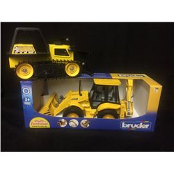 BRUDER MULTIFUNCTIONAL TOY BACK HOE
