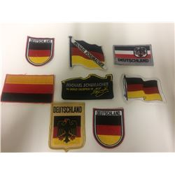 TEAM GERMANY PATCHES LOT
