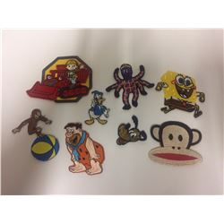 CARTOON PATCHES LOT