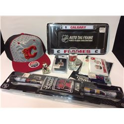 CALGARY FLAMES FAN SOUVENIR LOT
