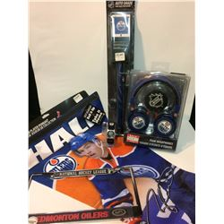 EDMONTON OILERS FAN SOUVENIR LOT