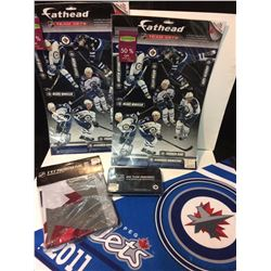 WINNIPEG JETS FAN SOUVENIR FAN LOT