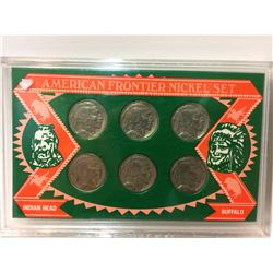 AMERICAN FRONTIER NICKEL SET (BUFFALO & INDIAN HEAD)