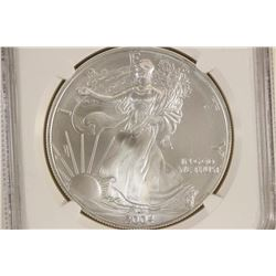 2004 AMERICAN SILVER EAGLE NGC MS69