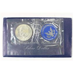 1971-S  IKE SILVER DOLLAR UNCIRCULATED (BLUE PACK)