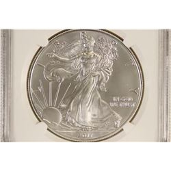 2011 (S) AMERICAN SILVER EAGLE NGC MS69